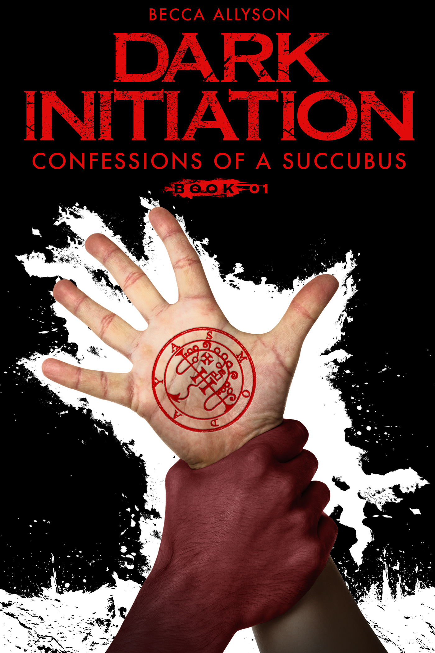 Dark Initiation: Confessions of a Succubus Book 1 (paranormal erotic romance)